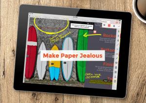 Make Paper Jealous iPad