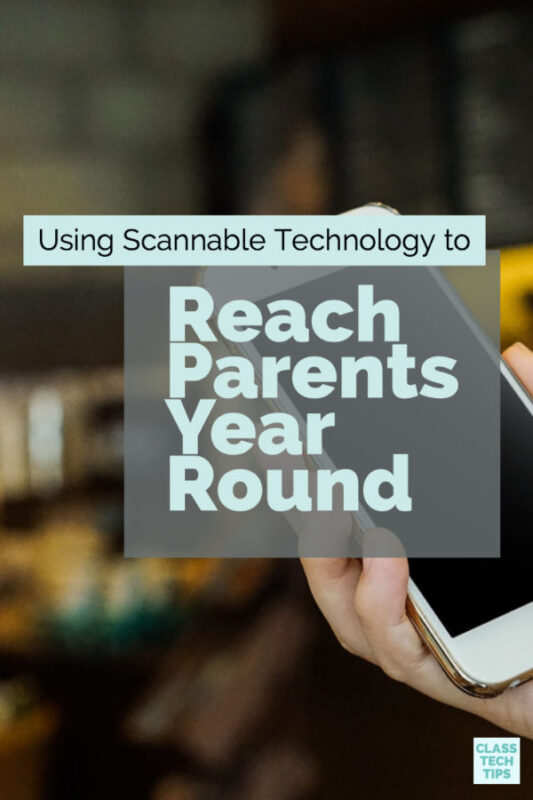 Using Scannable Technology to Reach Parents Year Round 3