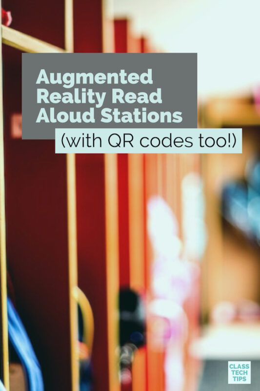 Augmented Reality Read Aloud Stations