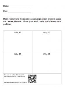 Connect Teacher Tutorials to QR Codes