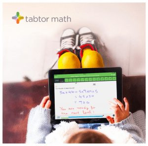 Tabtor Math: Tablet-Based Program + Live Tutor Tablet Math Program