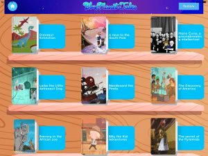 Blue Planet Tales: Interactive Storybooks for Tablets