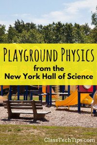 Playground Physics App from the New York Hall of Science