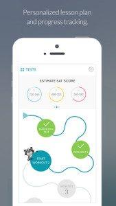 SAT App from Zinkerz: Adaptive, Comprehensive Study Tool