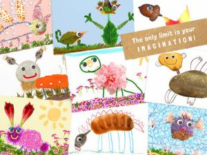 Creative Art App for Youngers Tiny Nature Artist