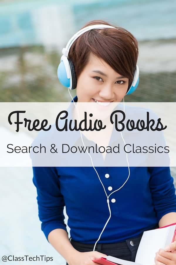 LibriVox Free Audio Books: Search & Download Classics - Class Tech Tips