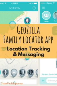GeoZilla Family Locator App: Location Tracking & Messaging