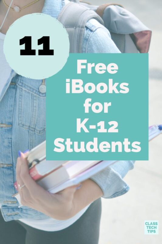 11 Free iBooks for K-12 Students