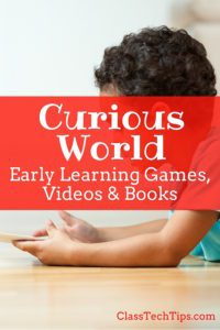 Curious World - Early learning games, videos and books