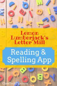 Lemon Lumberjack's Letter Mill: Reading & Spelling App
