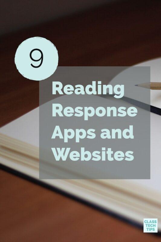 Reading Response Apps