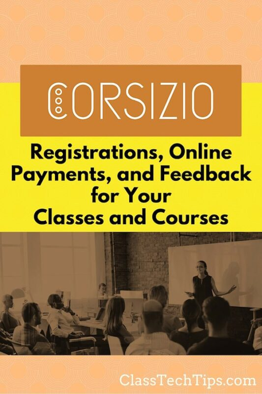 collect feedback Registrations, Online Payments, and Feedback for Your Classes and Courses