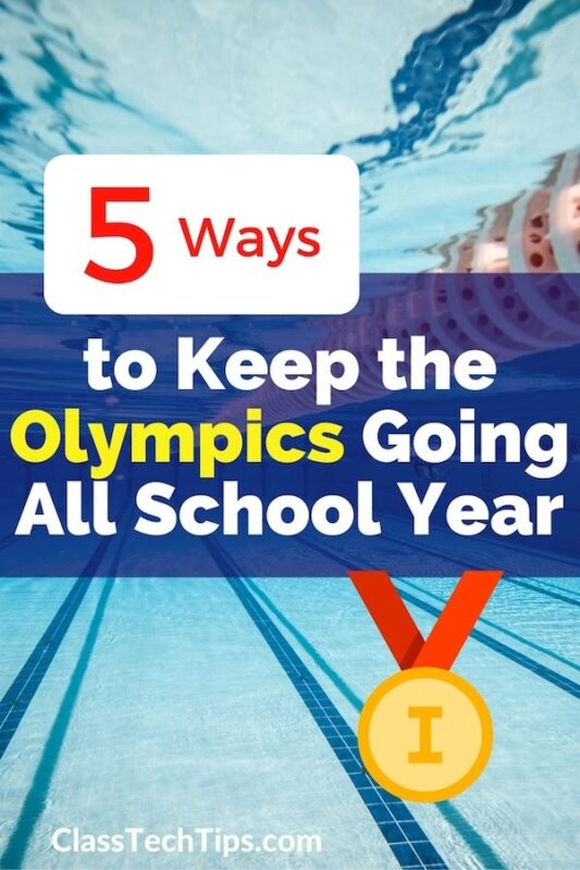 olympic lesson plans