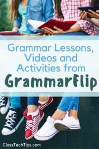Grammar Lessons, Videos and Activities from GrammarFlip