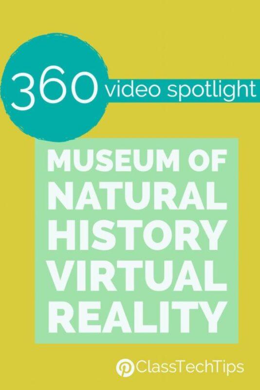 360 Video Spotlight Museum of Natural History Virtual Reality 1