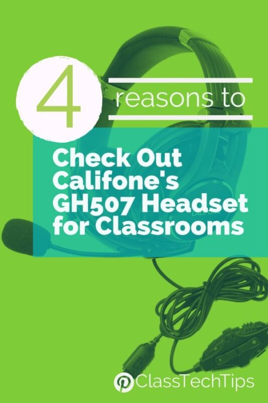 4 Reasons to Check Out Califone's GH507 Headset for Classrooms 1