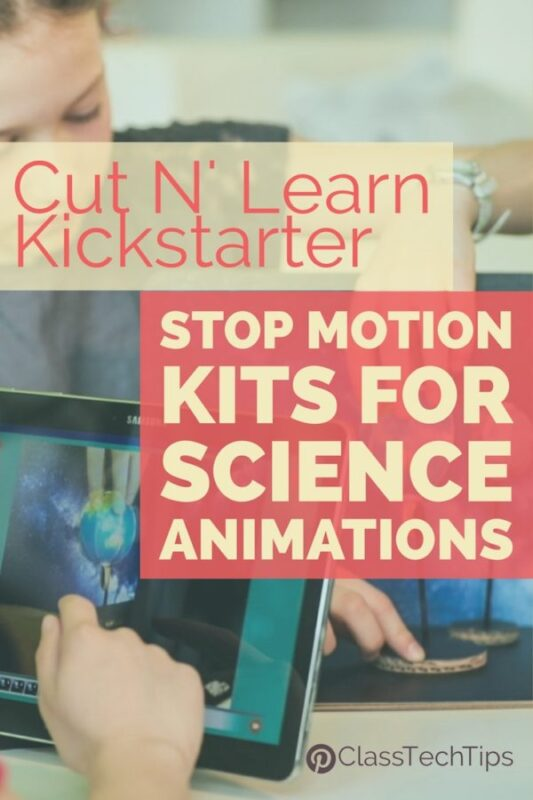 Stop Motion Kits for Science Animations Cut N' Learn Kickstarter 3