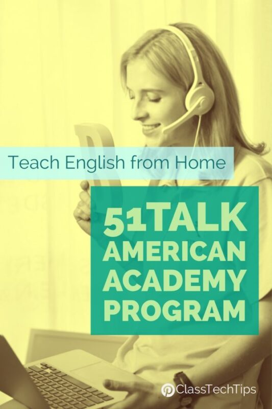 Teach English from Home 51Talk American Academy Program
