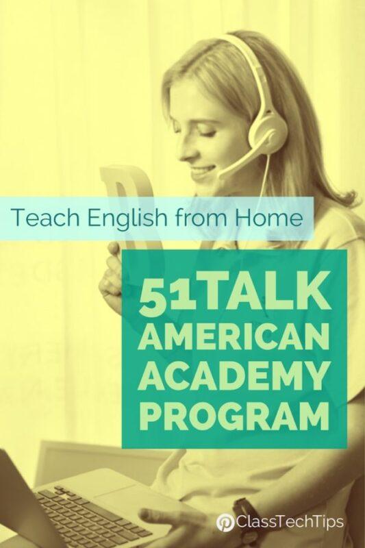 Teach English from Home 51Talk American Academy Program