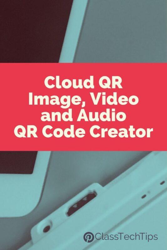 Cloud QR Image, Video and Audio QR Code Creator
