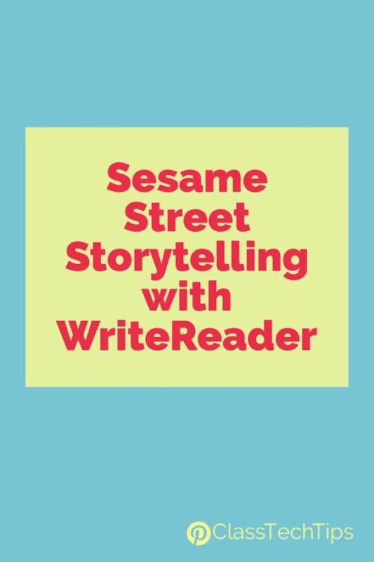 Sesame Street Storytelling with WriteReader