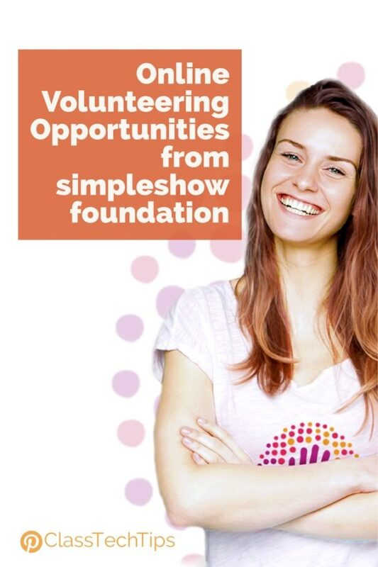 Online Volunteering Opportunities from simpleshow foundation