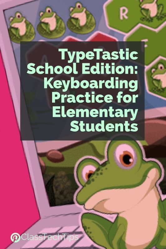 Keyboarding Practice for Elementary Students