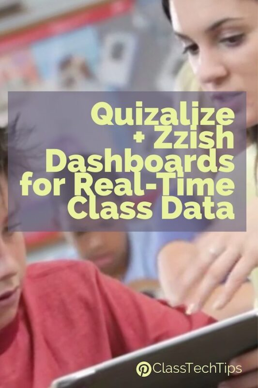Quizalize + Zzish Dashboards for Real-Time Class Data 2
