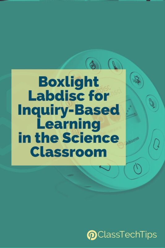 Boxlight Labdisc for Inquiry-Based Learning in the Science Classroom 4