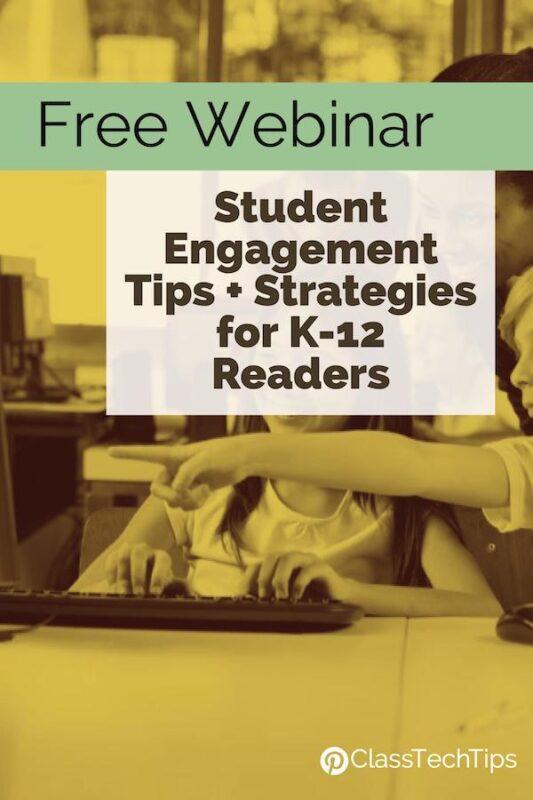 Free Webinar Student Engagement Tips + Strategies for K-12 Readers 3