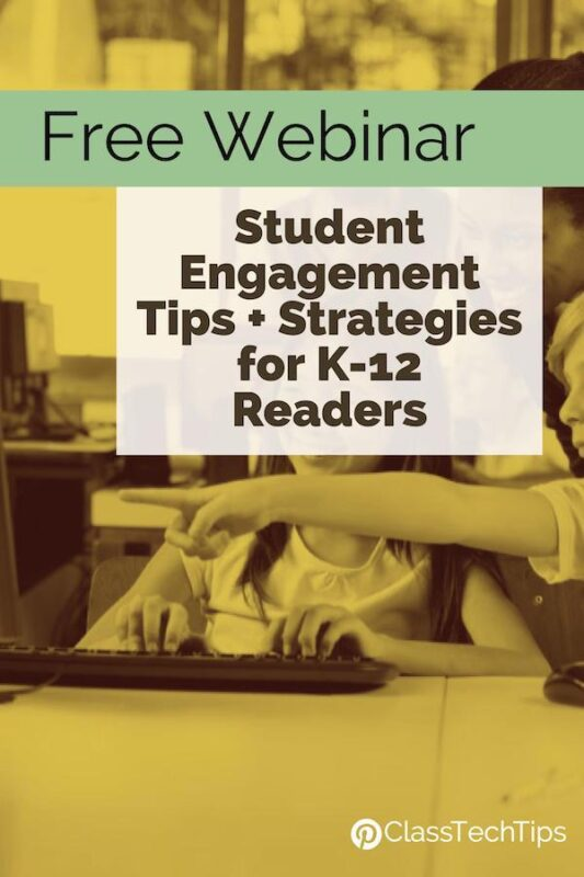 Free Webinar Student Engagement Tips + Strategies for K-12 Readers 3