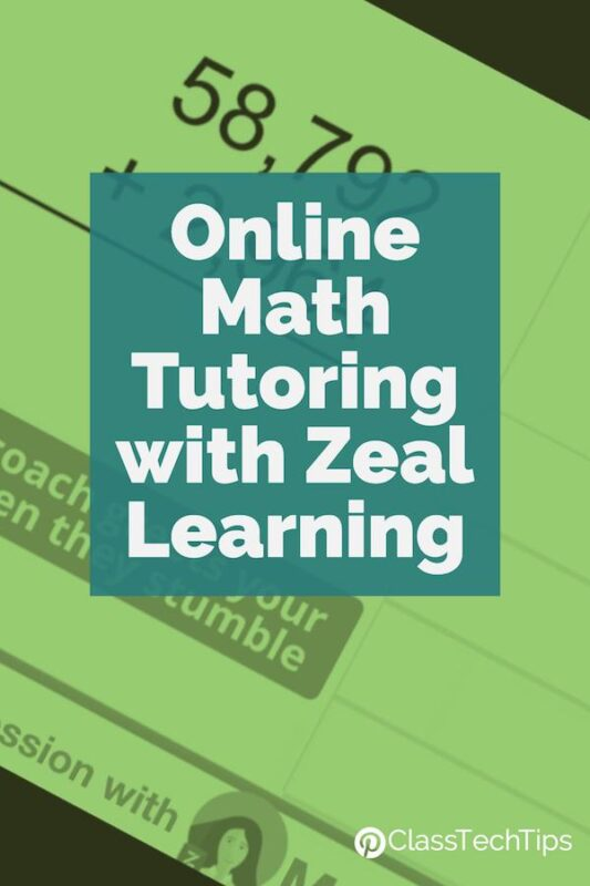 Online Math Tutoring with Zeal Learning