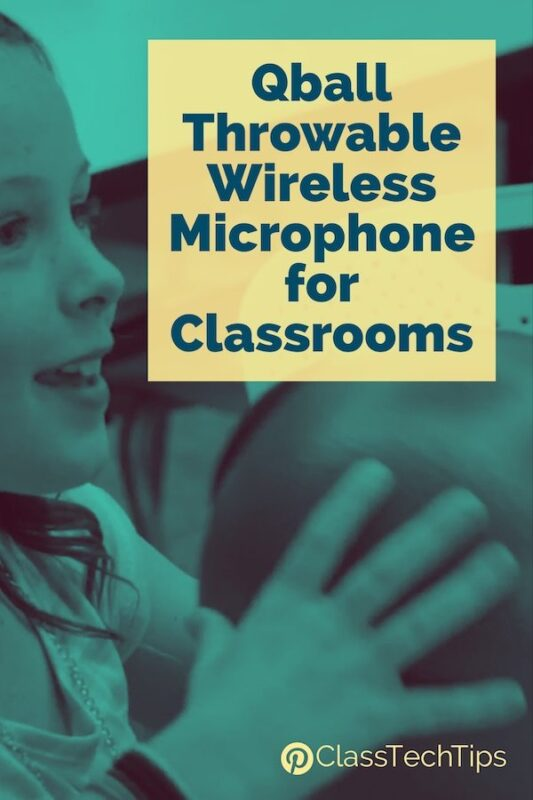 Qball Throwable Wireless Microphone for Classrooms