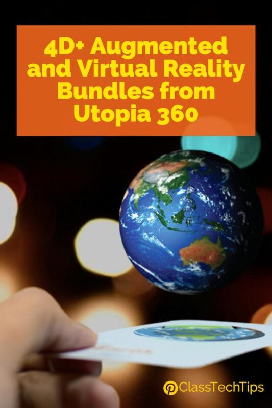 4D+ Augmented and Virtual Reality Bundles from Utopia 360