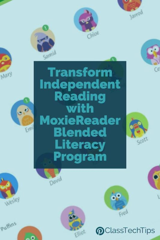 Transform Independent Reading with MoxieReader Blended Literacy Program 4