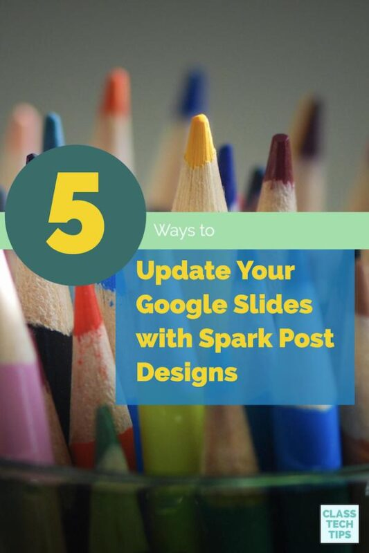 Update Your Google Slides with Spark Post Designs