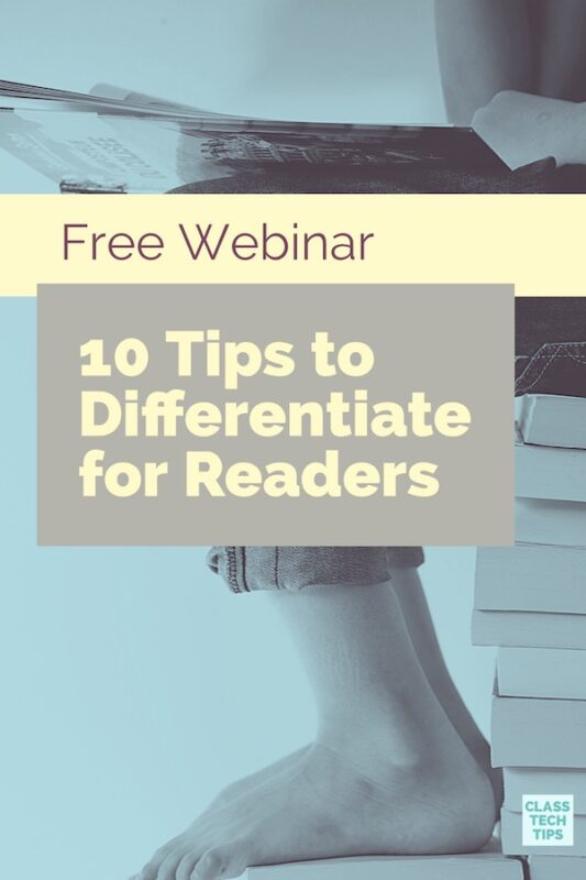 Free Webinar 10 Tips to Differentiate for Readers