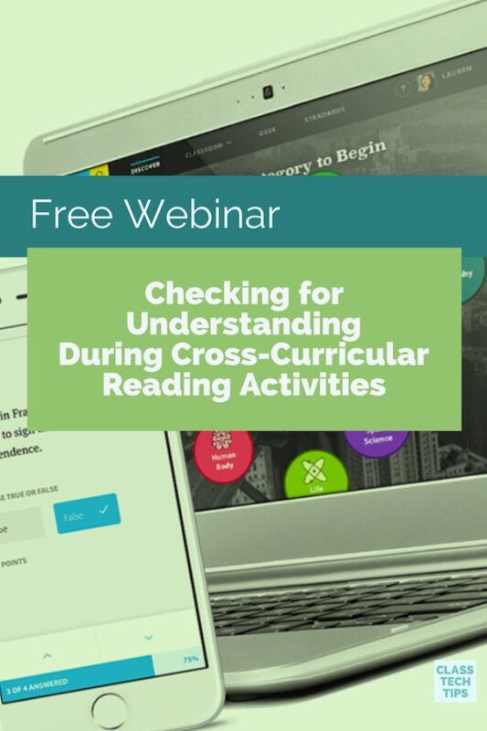 Free Webinar Checking for Understanding During Cross-Curricular Reading Activities 5
