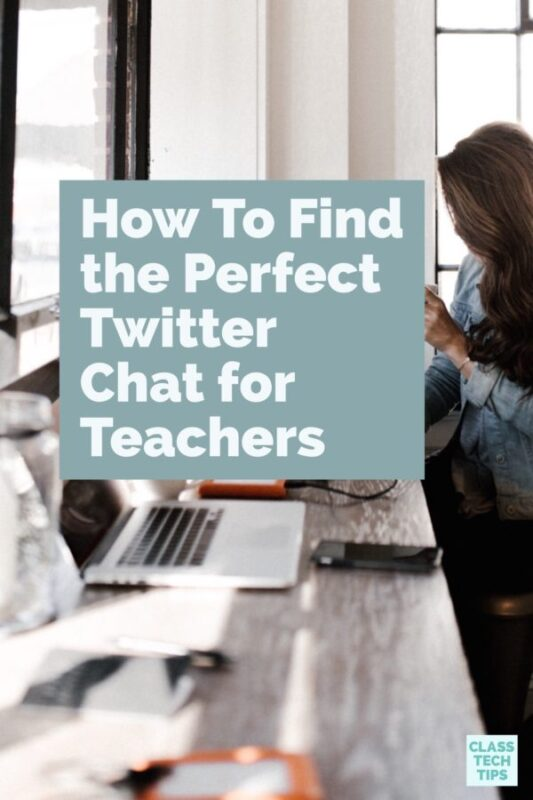 How To Find the Perfect Twitter Chat for Teachers