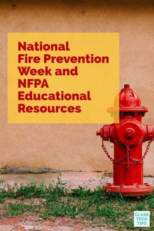 National Fire Prevention Week and NFPA Educational Resources