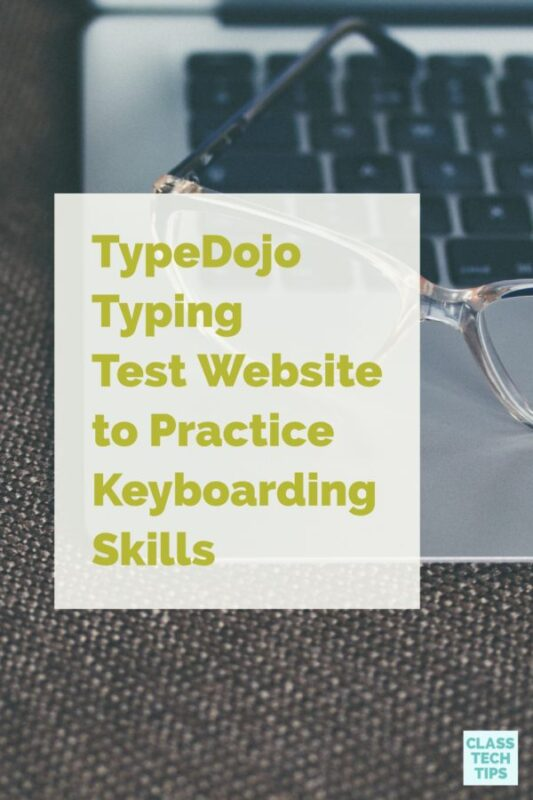 TypeDojo Typing Test Website to Practice Keyboarding Skills