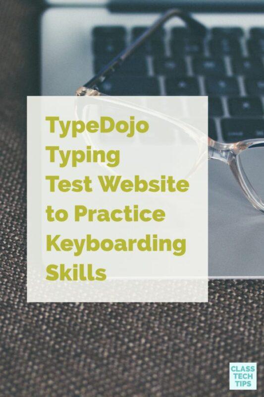TypeDojo Typing Test Website to Practice Keyboarding Skills