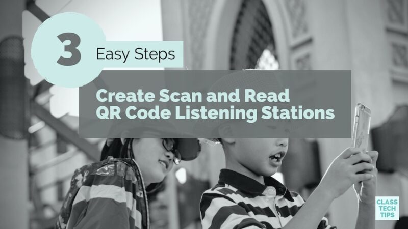 3 Easy Steps to Create Scan and Read QR Code Listening