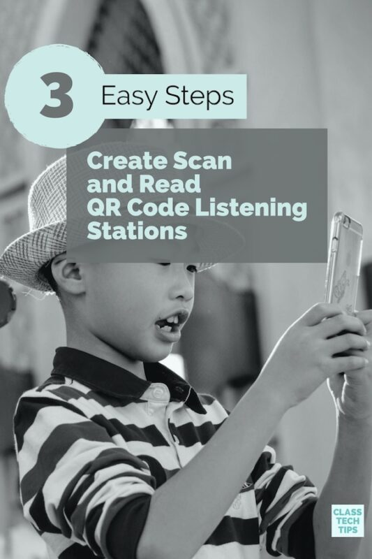 3 Easy Steps to Create Scan and Read QR Code Listening Stations