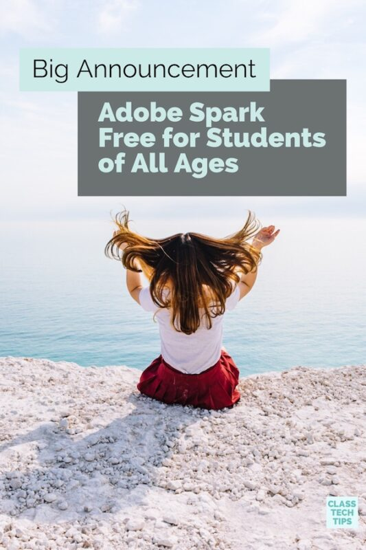Adobe Spark Free for Students of All Ages