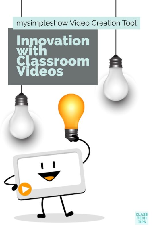 Innovation with Classroom Videos mysimpleshow Video Creation Tool