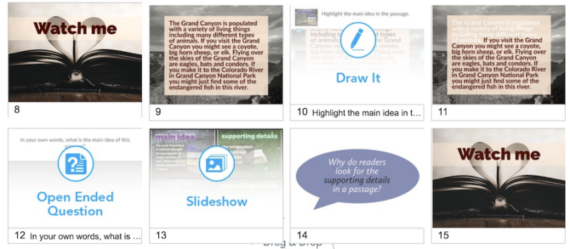Interactive Reading Lessons with Nearpod