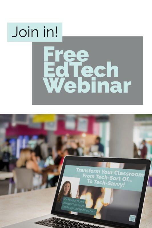 Free EdTech Webinar 1