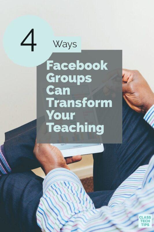 Facebook groups for teachers