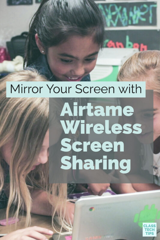 Mirror Your Screen with Airtame Wireless Screen Sharing